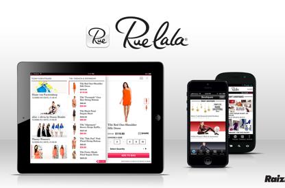 Mobile App Development for Rue La...